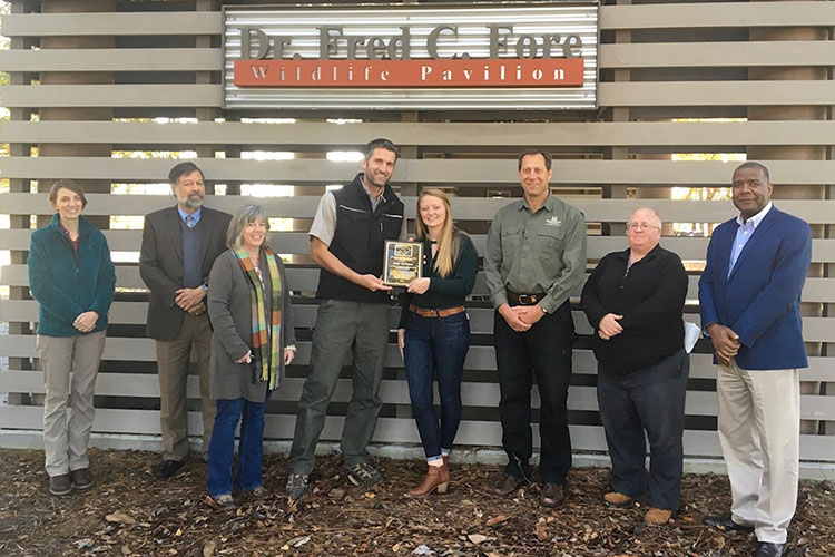 Forestry Student Wins Statewide Award